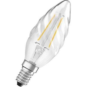 LED OSRAM 230 V E14 2 W = 23 W Warm white EEC: A++ Candle twisted (Ø x L) 35 mm x 99 mm Filament 1 pc(s)