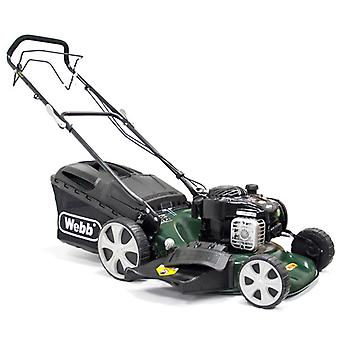 Webb WER18HW 18inch Self Propelled High Wheel Petrol Lawn Mower