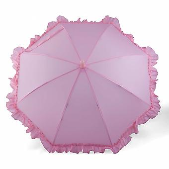 Umbrella for children girl Pink Ruffle