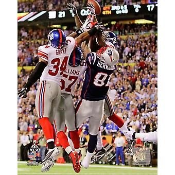 New York Giants Final Play of Super Bowl XLVI Photo Print