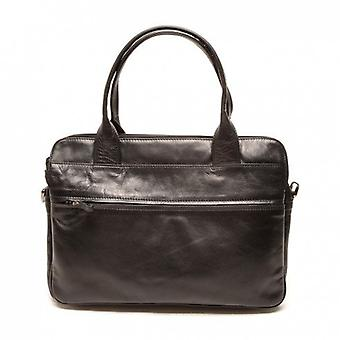 Ladies bag Soft Leather A4 Business Berba 005-964-00 Black