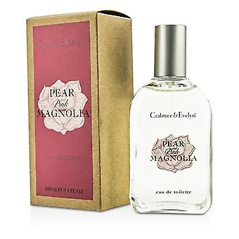 Crabtree & Evelyn pære & rosa Magnolia Eau De Toilette Spray 100ml / 3,4 oz