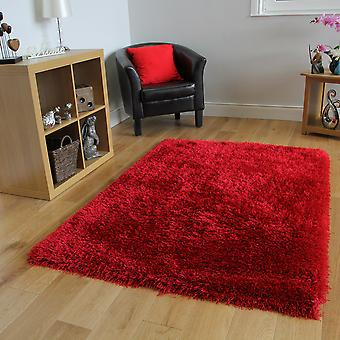 Red Shaggy Rug Memphis