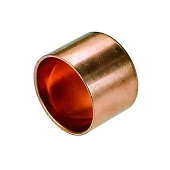 Female Pipe Fitting Ending Cap Copper Connector Solder Water Installation 22mm