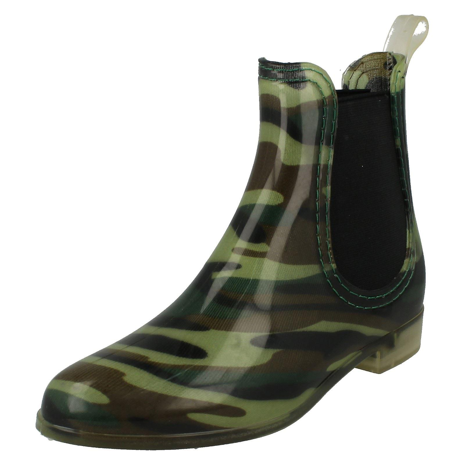 Wellington Ankle Womens Spot Boot On wC0nY0xq4