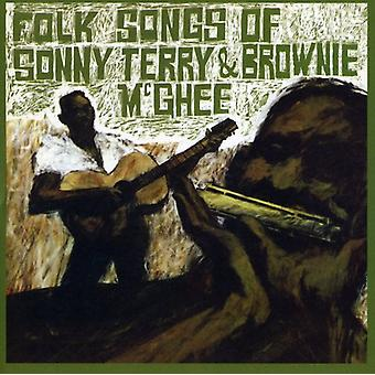 Terry/McGhee - importazione USA Folk Songs di Sonny Terry & Brownie McGhee [CD]