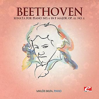 L.V. Beethoven - Beethoven: Sonata for Piano No. 6 in F Major, Op. 10 No. 2 [CD] USA import