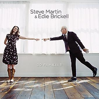 Martin, Steve / Brickell, Edie - So Familiar (Bn) [Vinyl] USA import