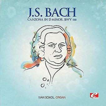 J.S. Bach - Canzona in D Minor [CD] USA import