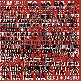 Graham Parker - Songs of No Consequence [CD] USA import