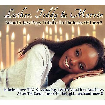 Teddy Luther & Marvin - Luther*Teddy & Marvin [CD] USA import