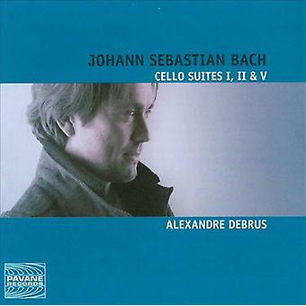 Bach, J.S. / Debrus, Alexandre - 6 Cello Suites [CD] USA import