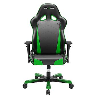 DX Racer DXRacer OH/TS29/NE Big and Tall Office Chairs For Heavy People PU Computer Chair(Black/Green)