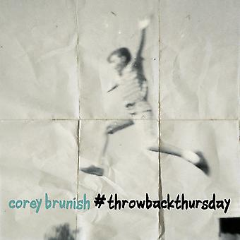 Corey Brunish - Throwbackthursday [CD] USA import