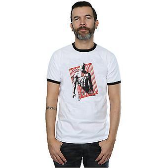 Marvel Men's Daredevil Cage Ringer T-Shirt
