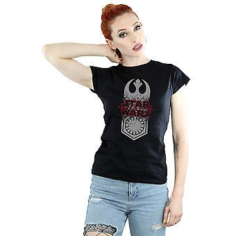 Star le dernier symbole de Jedi Crash T-Shirt Wars féminin