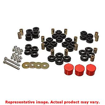 Energy Suspension Control Arm Bushing Set 5.3141G Black Rear Fits:CHRYSLER 2005