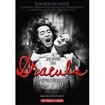 Dracula-sider fra et jomfruer dagbog [DVD] USA importerer