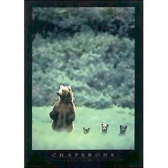 Chaperon-Plakat-Druck von Mark Newman (24 x 34)