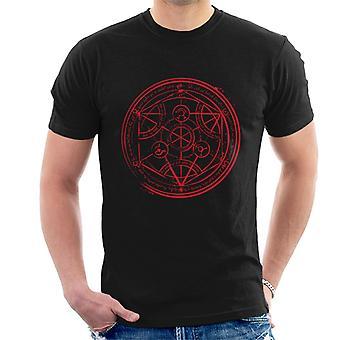 Fullmetal Alchamist Transmutation Circle Men's T-Shirt