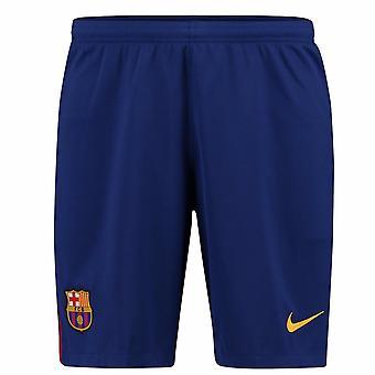 2017-2018 Barcelona Home Shorts Nike Fußball blau (Kids)
