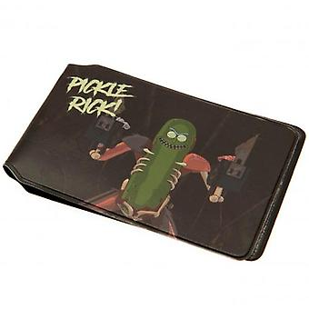 Rick And Morty Card Holder Pickle Rick