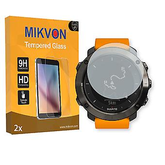 Suunto Traverse Screen Protector - Mikvon flexible Tempered Glass 9H (Retail Package with accessories)