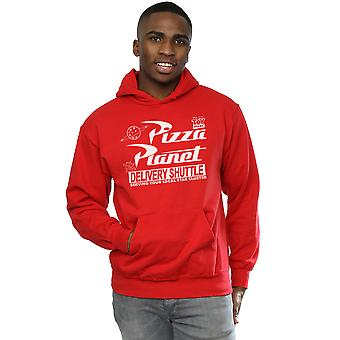 Disney Men's Toy Story Pizza Planet Logo Hoodie
