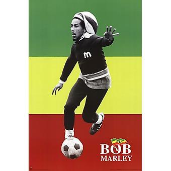 Bob Marley - Soccerrasta affisch affisch Skriv