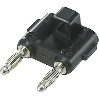 Connector Black Pin diameter: 4 mm Dot pitch: 19 mm SCI