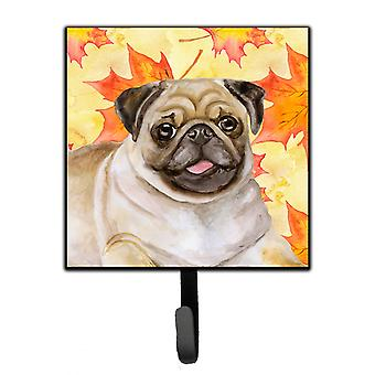Carolines Treasures  BB9979SH4 Fawn Pug Fall Leash or Key Holder