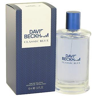 David Beckham Classic Blue Eau de Toilette 90ml EDT Spray
