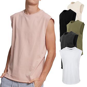 Urban classics - OPEN EDGE sleeveless muscle shirt