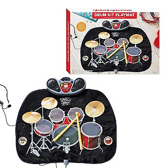 Childs Global Gizmos Drum Kit tappeto con MP3 giochi divertente giocattolo