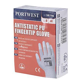 sUw - Mens Vending Antistatic PU Fingertip Gloves