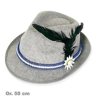 Bavarian hat with feather Bavarian Oktoberfest