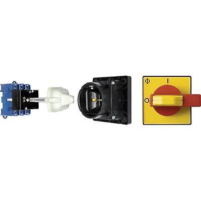 Kraus & Naimer KG41B T203 12 VE Isolator switch + door interlock 40 A 1 x 90 ° rouge, jaune 1 pc(s)