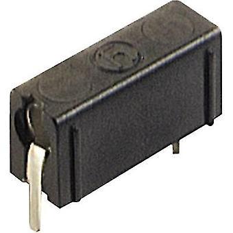 SKS Hirschmann PB 4 Test socket Socket, vertical vertical Pin diameter: 4 mm Black 1 pc(s)