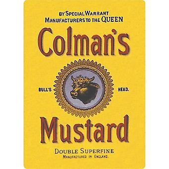 Colmans Mustard Metal Fridge Magnet