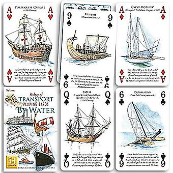 History Of Transport By Water Set Of 52 Playing Cards (+ Jokers)