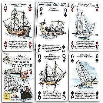 Истории транспорта воды набор из 52 игральных карт (+ джокеров)