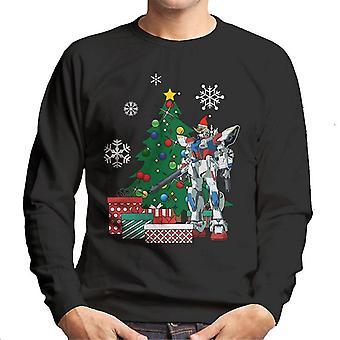 Gundam Around The Christmas Tree Men's Sweatshirt