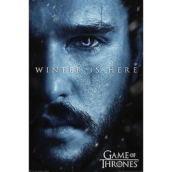 Spillet af troner plakat sæson 7 Jon Snow