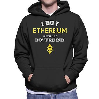 I Buy Ethereum With My Boyfriend Men's Hooded Sweatshirt