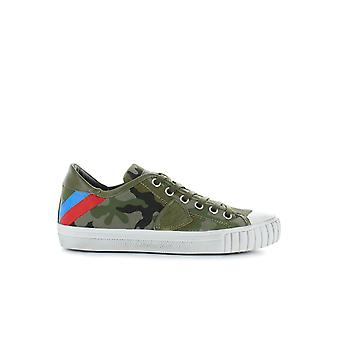 PHILIPPE MODEL GARE BANDES CAMOU GREEN SNEAKER