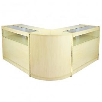 Fusion Maple Shop Counter & Retail Display Set