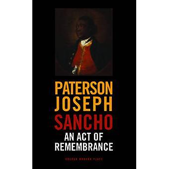 Sancho - ein Akt der Erinnerung von Joseph Paterson - 9781849431491 Buch