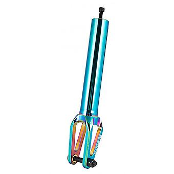 Blazer Pro Neochrome Bandit 6mm Offset CNC - 1.125 Inch Scooter Fork