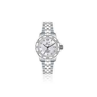 CHRIS BENZ - Taucheruhr-Armbanduhr - DIAMOND DIVER Silver Bay - CB-DD200-SI-MBJ