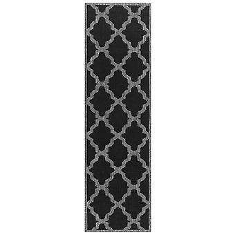 Moda Trellis Runners In Black
